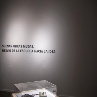 S/T (Dos casettes entrelazados), Nicolás Bacal. Foto: Roberto Wolk