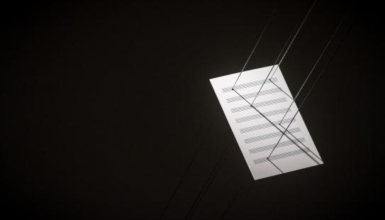 5 Notas, Jorge Macchi. Foto: Roberto Wolk