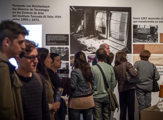 Homenaje a von Reichembach en Umbrales. Foto: Roberto Wolk