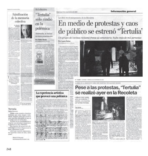 TERTULIA, de Nicolás Varchausky y Eduardo Molinari. Material cedido por artistas.